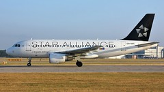 OO-SSC (AnDyMHoLdEn) Tags: brusselsairlines a319 staralliance lufthansagroup egcc airport manchester manchesterairport 23l