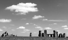 Stonehenge (shultstom) Tags: stonehinge england tourists sky salisbury tomshults shults stonehenge