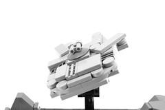 LEGO Motorized Millennium Falcon (Mini-Model) (Josh DaVid LEGO Creations) Tags: lego starwars star wars kinetic sculpture original contraption creation electronics technic robotics falcon