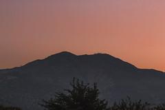 Past Everything (Gavin Minera) Tags: nature mountains landscape orange sunset tree dark bright sky atmosphere