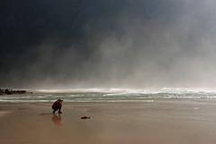 Shooting the beach (DoctorMP) Tags: lofoten moskenesoya nordland norway mountains beach atlantic ocean summer hiking outdoors