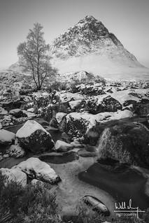 The Buchaille in winter