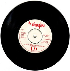 The Stranglers - (Get A) Grip (On Yourself) (1977) (stillunusual) Tags: thestranglers stranglers grip getagriponyourself single vinyl aside 1970s 1977