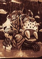Tiger Control. (detopics) Tags: 24105mm athompson tiger art canon artonwalls bandeto canoneos canon70d canonphotography canonphotos canonusa detopics graf grafitti grafporn nyc photography stare streetart urbanart vandals