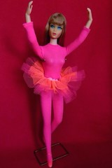 VINTAGE MOD SEARS EXCLUSIVE ACTION ACCENTS LIVING BARBIE DOLL w/ ORIGINAL OUTFIT (laika*2008) Tags: japan mattel fashiondoll ballerinabarbie ballerina originaloutfit doll vintagebarbie barbie living actionaccents actionaccentsliving searsexclusive mod vintage