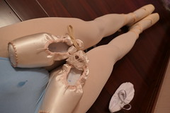 ballet outfits conquer (重庆彭于晏) Tags: pointe shoes ballet ballerina ballerino dance white tights pink canvas 芭蕾 sissy gurl chastity leotard slippers