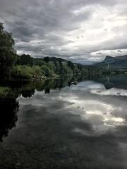 Overskyet - - Cloudy weather (erlingsi) Tags: morgen robåt rotevatn volda sunnmøre erlingsi iphone erlingsivertsen