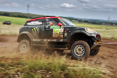 Nani Roma - Alex Haro (Martin Hlinka Photography) Tags: veszprém hungary watersplash action motorsport sport mud canon eos 60d hungarian baja 2018 fia fim cross country rally world cup tamron 2875mm f28 nani roma alex haro mini john cooper works