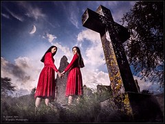 We Do Not Weep (but pray for your soul) (trevager) Tags: ballet boxgrovepriory brightpixphotography contemporary copyrighttrevorager cross dance dancers girls godoxad200 godoxad600 gothic grave gravestone graveyard modelindia modelolivia mourn offcameraflash reddress ruins strobist
