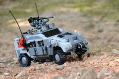 "MRAP ""Lynx"" (TierMR) Tags: war guns mine resitant ambush protected vehicle armored personel patrol outside spanish"