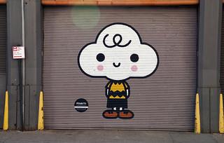 Peanuts Global Artist Collective Mural - Hudson Square neighborhood, New York City