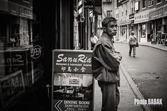 Man on Street  China Town (BABAK photography) Tags: chinatownnyc nycstreetphotography nycphotographer babak photobabak maga pahlavi torontophotographer fujix100 streetportrait china hongkong nude hairfashion sexy model blackandwhite urban humans of new york artforsale artoftheday