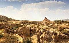 Désert de Bardenas Reales (G. Regisser Photographie) Tags: vacances canon 5d mark iii 24 70 f28 désert desert bardenas reales jaune chaud chaleur sec