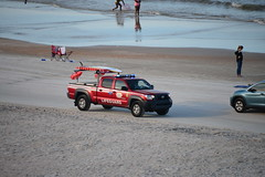 Volusia County Lifeguard (traveling around) Tags: beachsafety lawenforcement emt volusiacounty lifeguard oceanrescue 191361 toyota tacoma 911 3c beach sand ocean atlanti atlantic sea water