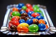 Colored peanuts (Jose Rahona) Tags: macromondays multicolor color colorful colored colores cacahuetes peanuts red orange green blue rojo verde azul naranja marron
