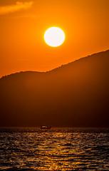 Sunset (Vagelis Pikoulas) Tags: sun sunset porto germeno greece boat fishing canon 6d tamron 70200mm vc sea seascape landscape view summer august nature 2018