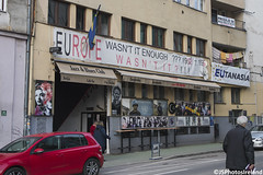 Europe, wasn't it enough (jsphotosireland) Tags: protest europe poster eu europeanunion war sarajevo bosniaherzegovina bosnia nikond810 nikonafs2470mmf28ged sarajevocanton irl