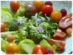 Salade de saison (eva Landes) Tags: crudités légumes vegetables food yummy