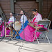 Gayageum Ensemble Korean Traditional Strings International Festival Wheeling Illinois 8-19-18 3283