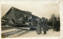 Easter Tornado, 1913 - Omaha, Nebraska (The Cardboard America Archives) Tags: nebraska 1913 vintage postcard easter tornado cityinruins midwestinruins disaster