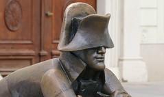 Bratislava - Statue Of Napoleon (A) (F) (Richard Collier - Wildlife and Travel Photography) Tags: bratislava slovakia statue napoleon