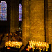 Candles in Chartres cathedral