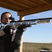 Young Girl Shooting Anschutz Target Rifle
