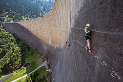 Via Ferrata at Schlegeis, Zillertal Valley, Austria. (Craig Hannah) Tags: viaferrataatschlegeis viaferrata zillertal valley climbing mountaineering exposed familydayout austria viaferrataschlegeis131 dam reservoir water sport awesome stunning climb enjoyable stroll fun excitement craighannah august 2018 holiday destination canon photography photos brilliant