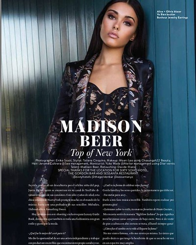 Madison Beer Luxury Magazine