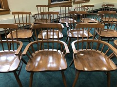 Chicago -- June 2018 (nhighberg) Tags: chairs empty emptychairs chicago newberrylibrary newberry