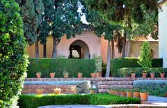 Málaga, in de tuin van de Alcazaba, Spanje Andalusië 2018 (wally nelemans) Tags: málaga alcazaba tuin garden spanje spain españa andalusië andalucia andalusia 2018