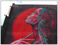 Insane51  3D mural (donbyatt) Tags: bedminster bristolupfest2018 streetartfestival graffiti streetart urbanwalls spraycans 3dart mural overlaymural insane51