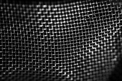 Mesh (Kaarel Kaldre) Tags: macromondays mesh wire traat net võrk outdoor mustvalge blackandwhite monochrome makro macro noiretblanc closeup