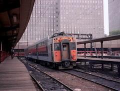 IC Highliner at South Shore Randolph platform 3 (jsmatlak) Tags: chicago south shore bend railroad electric interurban train nictd csssb