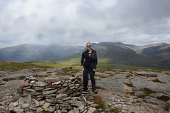 Me At The Summit of Sgor Mor (steve_whitmarsh) Tags: aberdeenshire scotland scottishhighlands highlands mountain hills cairngorms steve topic