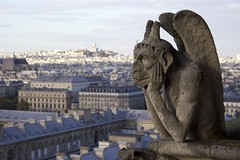 Paris (stevelong1989) Tags: paris france travel adventure trip notredame gargoyle