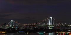 Tokyo Rainbow Bridge Night view (shinichiro*@OSAKA) Tags: 20180811sdim4635 2018 crazyshin sigmasdquattroh sdqh sigma1770mmf284dcmacrohsm august summer fireworks tokyo japan daiba odaiba 東京花火大祭 潮風公園 レインボーブリッジ 東京タワー