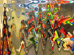 Emerging colors (ashokboghani) Tags: abstract abstractart digitalart digitalpainting modernart photoshop photoshopart