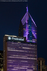 Prudential Plaza (20180809-DSC06728) (Michael.Lee.Pics.NYC) Tags: chicago prudentialplaza night architecture hotelview cindysrooftop chicagoathleticassociation sony a7rm2 fe24105mmf4g