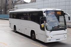 ECB BX11GVY @ Edinburgh bus station (ianjpoole) Tags: edinburgh coachlines volvo b9r plaxton panther bx11gvy working route m92 bus station aberdeen union square