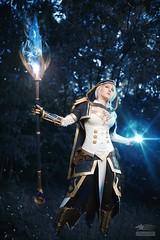 Jaina (Snowgrimm) Tags: cosplay costume jaina fantasy magic editing forest