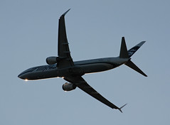 N442AS Boeing 737-990ER Alaska Airlines (corkspotter / Paul Daly) Tags: n442as boeing 737990er w b739 43293 4700 l2j lpgh a5521c asa as alaska airlines 2013 20131125 kiah iah houston intercontinental