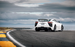 From Dubai to Wales. (Alex Penfold) Tags: lexus lfa white supercar super car cars autos anglesey wales 2018