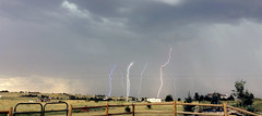 Day Lightning Comp_6 (northern_nights) Tags: daylightning lightning storm weather cheyenne wyoming iphone5s