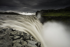Power (Longleaf.Photography) Tags: dettifoss iceland power surge waterfall river storm close edge cliff
