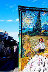 Street Art (Anselmo Portes) Tags: chile valparaíso valpo street streetart blue bluesky colours colors colourful colour colorido colorida color colorful coloridos arte arteurbana urbanart vangogh southamerica américadosul