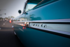 1959 Chevrolet Impala (Photos By Clark) Tags: subjects california vehicles canon5div unitedstates location northamerica canon1740 locale places where escondido us impala chevrolet 1959 classic restored whitewalls collectable thesandiegoist