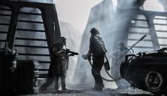 Prisoner II (TX-0666) Tags: desaturated portland diy diorama nikon actionfigures hasbro solo mimbanstormtrooper stormtrooper chewbacca mimban toyphotography starwars