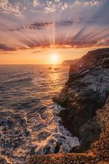 Marin Headlands XIII (sberkley123) Tags: flickrsbest ngc california d850 nikon marin usa sunset ocean colors marinheadlands sanfrancisco coast pacific 1424mm