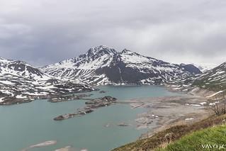 Mont Cenis (shallow) lake